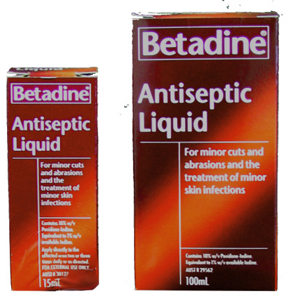Betadine Solution/Liquid - Bigfoot Podiatry